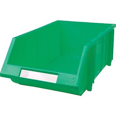 Hi-Stak Plastic Bins, Green, CC238