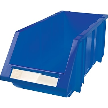 Hi-Stak Plastic Bins, Blue, CC239
