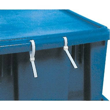Stack & Nest Totes, Covers, Tote Cover, Blue, For Series SNT300, 2/Pack