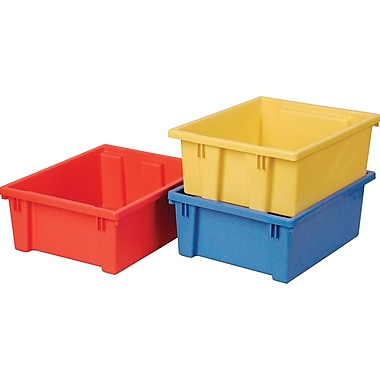 Stack-n-nest Storage Bins, Qty/pk, 4, Cc890
