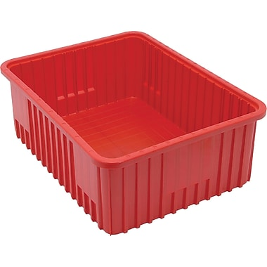 Divider Box Containers, Volume Cu. Ft., 1.32, CC941, 2/Pack