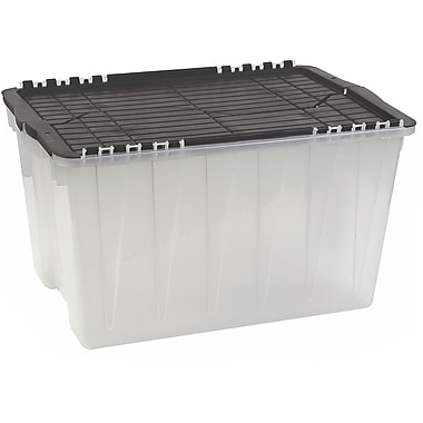 Translucent Flip Top Economy Storage Containers, 4/Pack (CD383)
