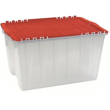 Translucent Flip Top Economy Containers