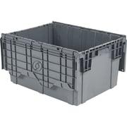 Flipak Polyethylene Plastic (pe) Distribution Containers, Nesting Ratio, 2.7:1, Cf724