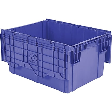 Flipak Polyethylene Plastic (pe) Distribution Containers, Nesting Ratio, 2.7:1, Cf725