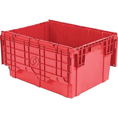 Flipak Polyethylene Plastic (pe) Distribution Containers, Nesting Ratio, 2.7:1, Cf726
