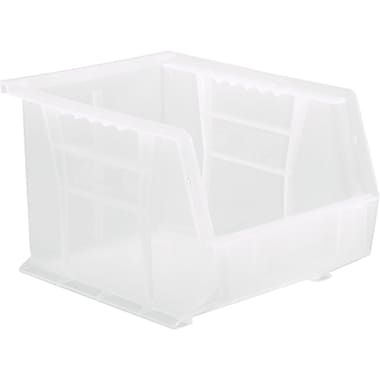 Clear-view Stack & Hang Bins, Bins, 8.25, Polypropylene