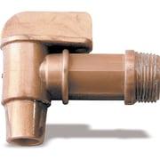 Manual-closing Poly Faucets, 2/Pack