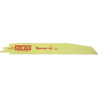 King Cut Fire, Rescue & Demolition Reciprocating Blades, EAM076, 15/Pack