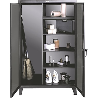 Broom Closet Storage Cabinets, Cabinet, 48