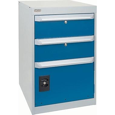 Armoires, 2 tiroirs avec armoires à 1 porte