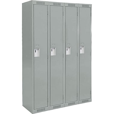 Assembled Clean Line Economy Lockers, Fj154