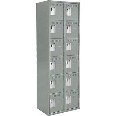 Assembled Lockerette Clean Line Economy Lockers, Fj172
