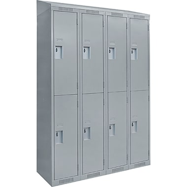 Assembled Clean Line Economy Lockers, Fj183