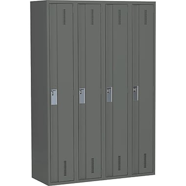 All-welded Concorde, Heavy-duty Lockers1, Charcoal, Base Style, Basic