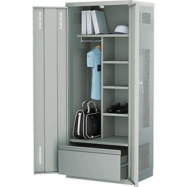 All-welded Deluxe Gear Locker4, Grey, Assembly Type, Welded, Assembled