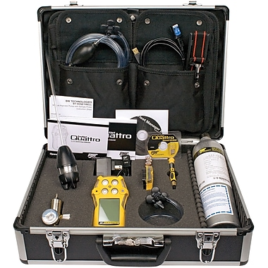 GasAlertQuattro Multi-Gas Detectors, Standard Confined Space Kit