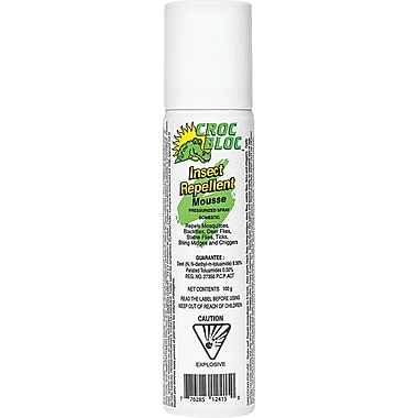 Croc Bloc 3-Hour Insect Repellent Foam, 12/Pack