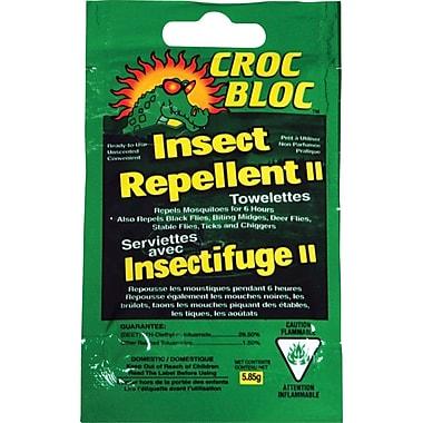 Croc Bloc 6-Hourr Insect Repellent Towelettes, 50/Pack