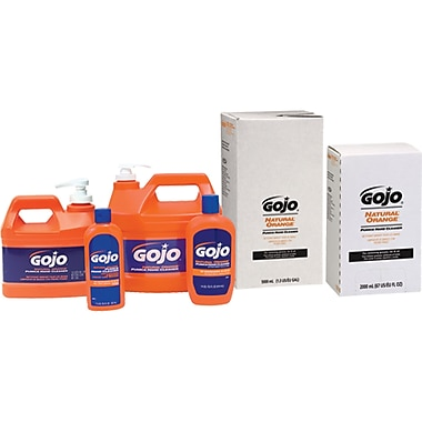 Gojo Natural Orange Pumice Hand Cleaner, JA327
