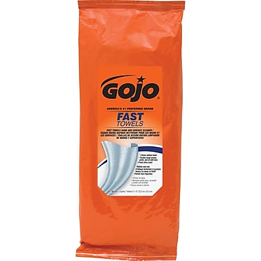 Gojo Fast Wipes Multipurpose Hand Cleaning Towels, 5/Pack