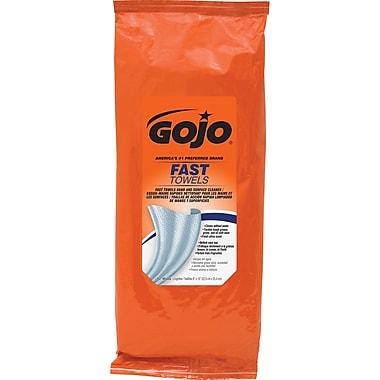 Gojo – Lingettes essuie-mains Fast Wipes à multiples usages, paq./5