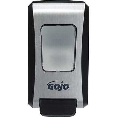 GOJO FMX-20TM JA406 Dispensers, One Push, Grey/Black, 12/Pack