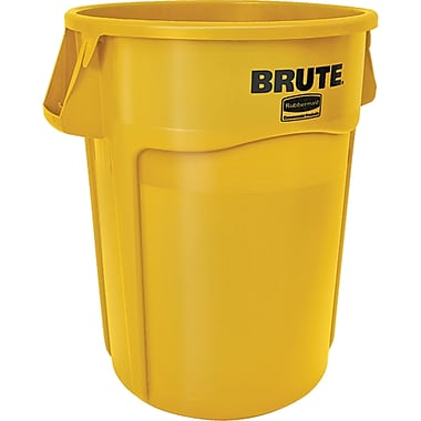 BRUTE Identity 44-Gallon Containers, Yellow