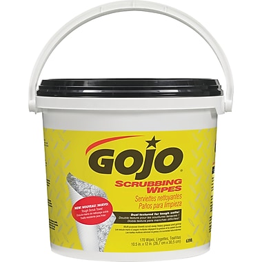 Gojo Multipurpose Scrubbing Wipes, 2/Pack