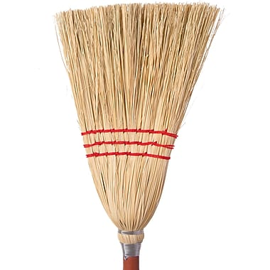 Lobby Broom For Dust Pan, 12/Pack