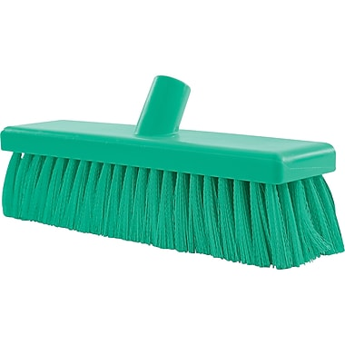 General Purpose Floor Brooms, Medium, Green, Jb797, 2/Pack