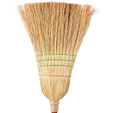 Corn Brooms, Janitorial, 6/Pack