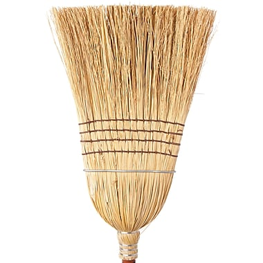 Corn Brooms, Service Duty, X-heavy, 4/Pack