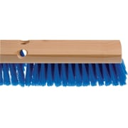 """Industrial Fine Sweep Brooms, 24"""" Block Only, 4/Pack"""