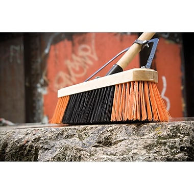 Professional Series Brooms, Sweep Action, Coarse, 24