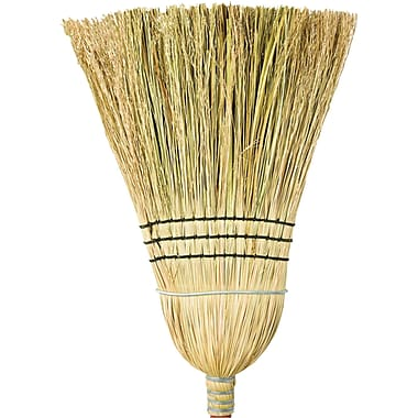 Corn Broom, Husky Heavyduty, 5/Pack