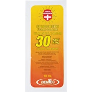 SPF 30 Sunscreen Individual Use Pouches, 50/Pack