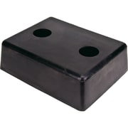 "Molded Dock Bumpers, Face Size W"" X H"", 13 X 10, Rectangular Molded Dock Bumpers, Overall Projection"", 4"