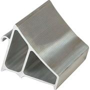 Aluminum Wheel Chocks, 4 Lbs., Wheel Chocks, 2/Pack