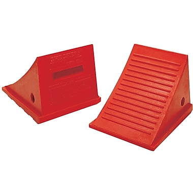 General Purpose Polyurethane Wheel Chocks, Wt. Lbs., 6, General Purpose Wheel Chocks, Qty/pk, 1