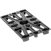 "Plastic Pallets, Stringer Height"", 1 1/2, MA373, 12/Pack"