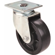 "Heavy-duty Emaxx Kingpin Casters, Tread Width"", 2, Rigid, Wheel Dia"", 6, Wheel Type, Mold-on Urethane, Mg370, 900"