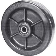 "Envirothane Wheels, Tread Width"", 7/8, Wheels, Bearing Type, Nylon/steel"