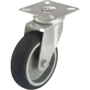 "Thermoplastic Casters, Wheel Dia"", 2, Swivel Thermoplastic Casters, Wheel Width"", 3/4"