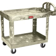"""Heavy-duty Utility Carts, Caster Type, 5"""" Non-marking Tpr, Beige"""