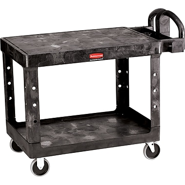 Flat Shelf Utility Carts, 25 1/4 X 54 X 38, Flat Shelf Utility Carts, Wt. Lbs., 52