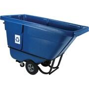"""Polyethylene Tilt Trucks, Capacity Cu. Yds., 1/2, Tilt Trucks, Dimensions L"""" X W"""" X H"""", 60 1/2 X 28 X 38 1/2"""