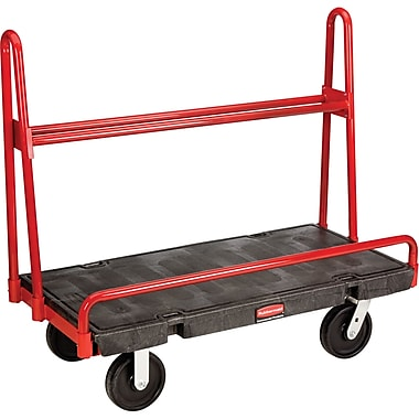 Specialized Carts & Dollies, A-frame Panel Trucks, Caster Type, 8