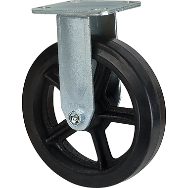 Mold-on Rubber Casters, Tread Width, 2
