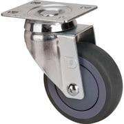 "Plastic Utility Service Carts, Description, 4"" Swivel Non-marking Rubber Casters, Replacement Casters"